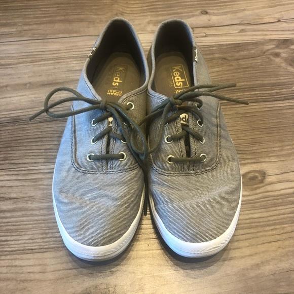 Keds Shoes   Olive Green Canvas   Poshmark